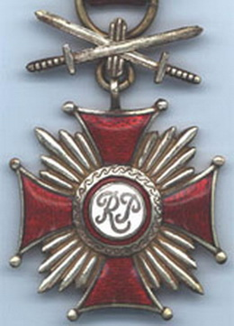 Крест заслуги с мечами