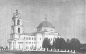 Храм Казанской Божьей Матери в Вавоже