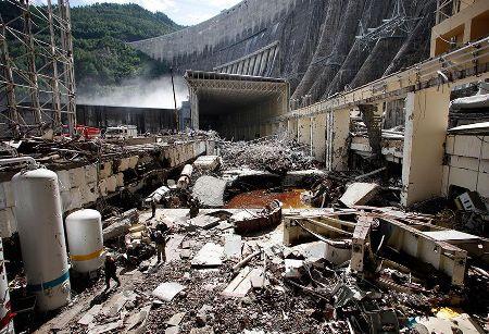 Разрушения на Саяно-Шушенской ГЭС