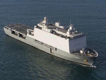 Десантный вертолетоносец корабль-док Johan de Witt